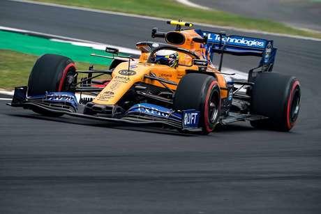 Norris diz que a McLaren tem P3 como objetivo