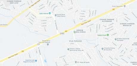 A rodovia Presidente Dutra, em Guarulhos, apresenta congestionamento na manhã desta sexta por causa de acidente envolvendo caminhões, ônibus e carros