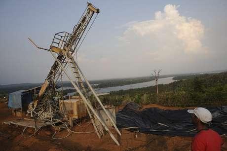 Instalações da Belo Sun para mineração de ouro no Norte do Brasil  03/10/2012 REUTERS/Lunae Parracho