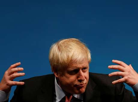 Boris Johnson participa de evento em Cheltenham 12/7/2019 REUTERS/Peter Nicholls