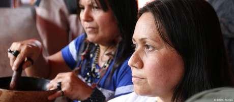 Nara Baré, chefe da Coordenação das Organizações Indígenas da Amazônia Brasileira (Coiab)