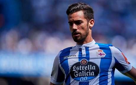 Pablo Marí foi titular do Deportivo La Coruña em 2018/19; O clube quase conseguiu o acesso à La Liga (Foto: AFP)