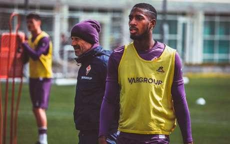 Gerson esteve emprestado à Fiorentina em 2018/19 e não fazia parte dos planos da Roma (F: Divulgação/Fiorentina)