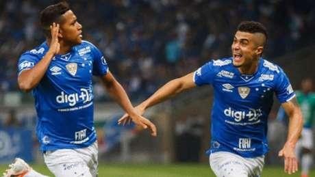 Pedro Rocha teve uma noite inspirada com gol, assistência se sendo a principal arma ofensiva do Cruzeiro diante do Atlético-MG- (Reprodução/Twitter)