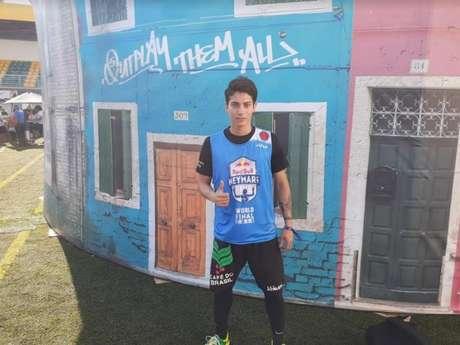 Lucas Murai Alves nasceu em Marília e foi morar no Japão aos 8 anos de idade (Foto: Vinícius Perazzini)