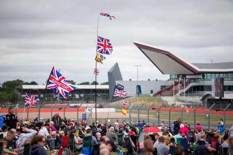 GP da Grã-Bretanha de F1 em Silverstone