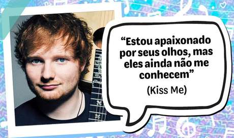 """""""Estou apaixonado por seus olhos, mas eles ainda não me conhecem"""", Kiss Me"""
