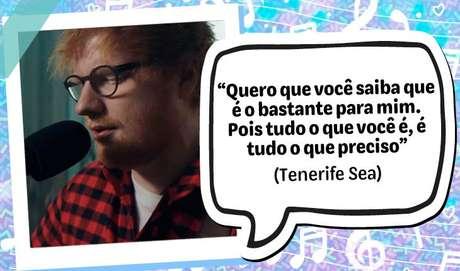 """""""Quero que você saiba que é o bastante para mim. Pois tudo o que você é, é tudo o que preciso"""", Tenerife Sea"""