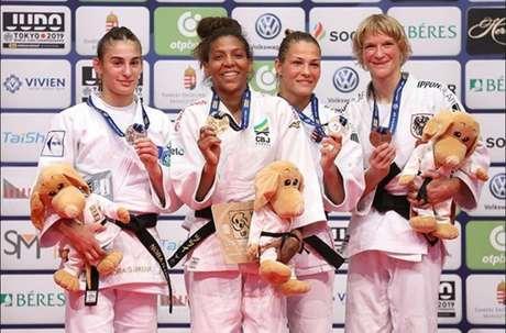 Rafaela Silva foi medalha de ouro no Grand Prix de Budapeste