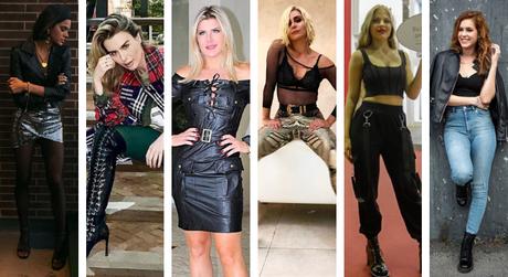 Famosas apostam no estilo rocker (Fotos: Instagram/Reprodução)