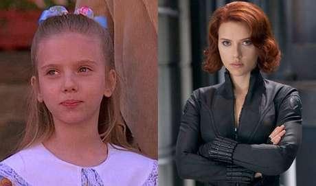 Scarlett Johansson estreou como atriz quando ainda era bem novinha, na comédia