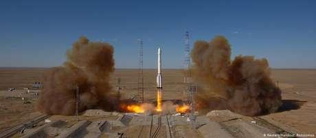 Satélite russo tem a bordo telescópio de raios X alemão eROSITA