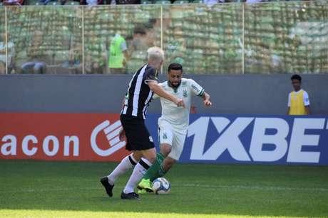 O Coelho caiu para a vice-lanterna da Série B com apenas cinco pontos em nove jogos- (Mourão Panda/América-MG)