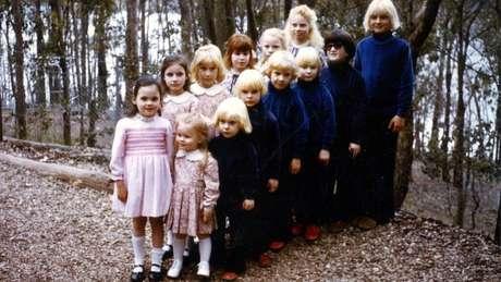 As crianças sofriam uma série de abusos sob o domínio da seita