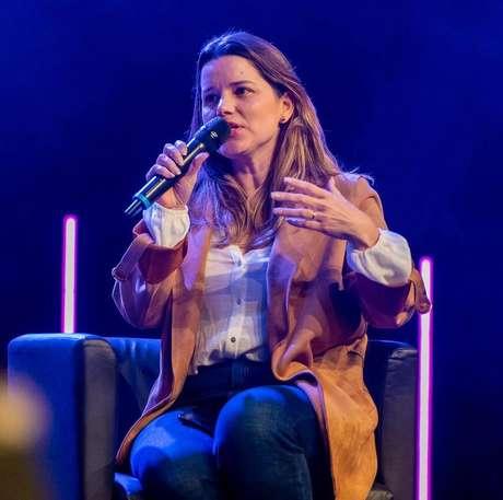 A empresária brasileiraVanessa Caldas,em Oeiras