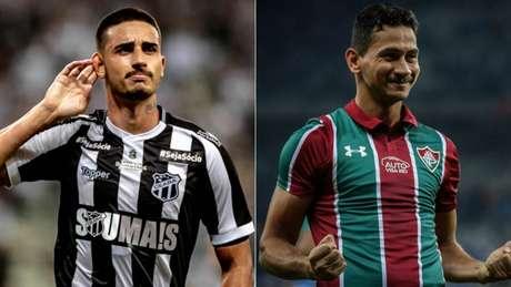 Thiago Galhardo e Ganso farão um duelo de maestros no jogo desta segunda-feira (Foto: LC Moreira)