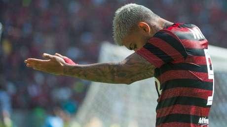 Camisa 9 brilhou na goleada rubro-negra (Alexandre Vidal/CRF)