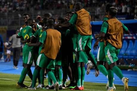 Senegal bate a Tunísia e está na final da Copa das Nações Africanas (Foto: Khaled Desouki/AFP)
