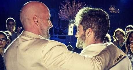 """Paulo Gustavo com Thiago Bretas no dia do 'sim': """"Eu quis casar, ser feliz"""""""