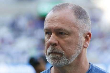 O técnico do Cruzeiro, Mano Menezes
