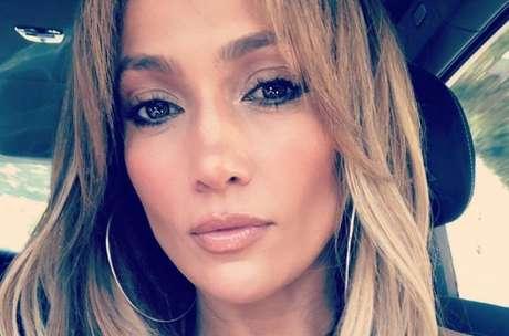A cantora Jennifer Lopez.