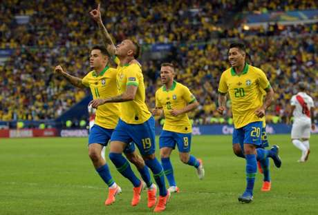 Everton fez grande Copa América (Foto: Carl de Souza / AFP)