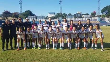 São Paulo foi derrotado por 1 a 0 no último domingo e decide acesso em casa (Foto: Reprodução Twitter/São Paulo)