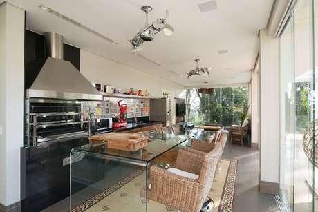 11. Defina suas prioridades antes de escolher os itens para a decoração do espaço gourmet – Foto: Riabitare
