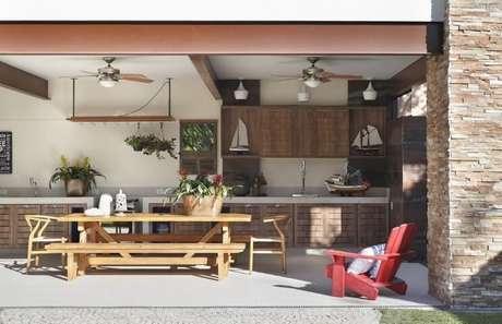 1. Saiba como equipar seu espaço gourmet da melhor forma! Projeto de RBP Arquitetura