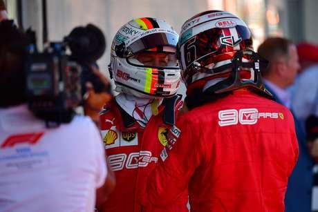 Ex-piloto de F1 acha que Vettel pode perder status de número 1 na Ferrari