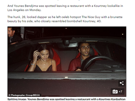 Ex-namorado de Kourtney Kardashian, Younes Bendjima é modelo e tem 26 anos