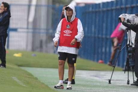 Técnica do Santos, Emily Lima fez duras críticas à CBF (Pedro Ernesto Guerra Azevedo/Santos FC)