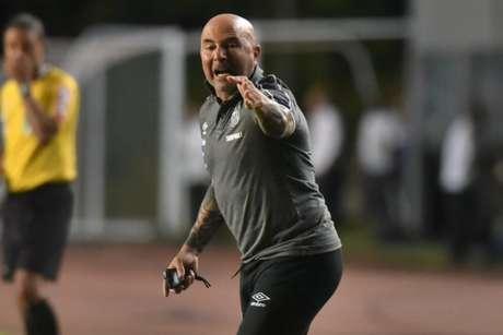 Sampaoli está em dúvida na formação do Santos contra o Botafogo (Ivan Storti/Santos FC)