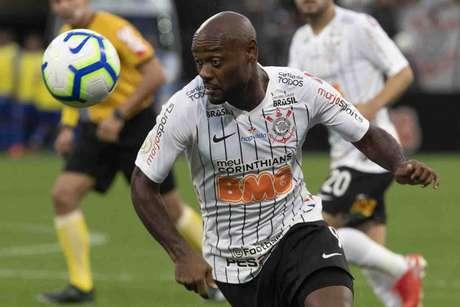Vagner Love, autor do gol corintiano na vitória contra o CSA, no último domingo (Daniel Augusto Jr./Ag. Corinthians)