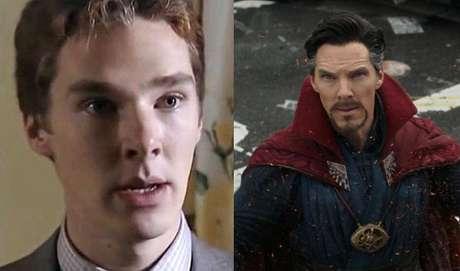 Benedict Cumberbatch fez sua primeira aparição na televisão na série
