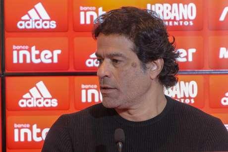 Diretor-executivo de futebol do São Paulo, Raí