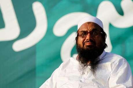 Hafiz Muhammad Saeed, chefe do Lashkar-e-Taiba  20/07/2016 REUTERS/Caren Firouz