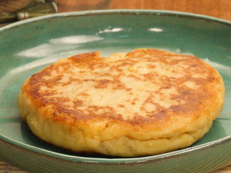 Pão de batata de frigideira fácil