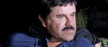 El Chapo após ter sido capturado em 2016
