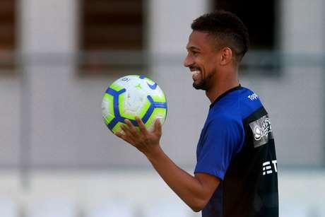 Biro Biro agradeceu as mensagens de carinho (Foto: Vítor Silva/Botafogo)