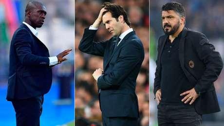Seedorf, Solari e Gattuso são alguns exemplos (Foto: Reprodução)