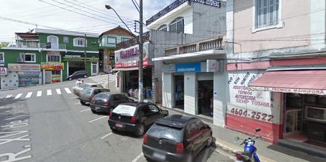 Centro da cidade de Mairiporã, em São Paulo