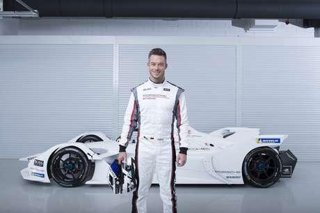 André Lotterer será o segundo piloto da equipe Porsche Fórmula E