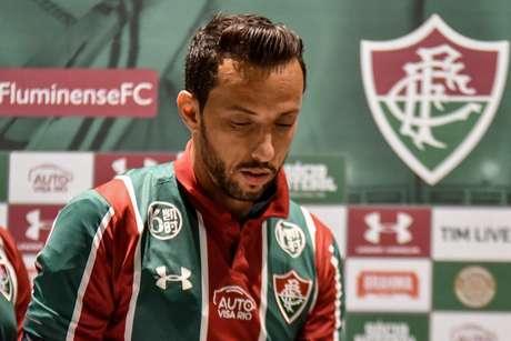 Nenê é apresentado durante Fluminense x Ceará, partida válida pelo Campeonato Brasileiro, realizada no estádio Maracanã, localizado na cidade do Rio de Janeiro