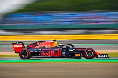 "Verstappen teve ""grande problema"" no GP da Inglaterra"
