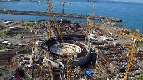 Angra 3 começou a ser construída em 1984