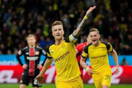 Aos 30 anos, Reus é um dos principais jogadores do Borussia Dormtund (Foto: Rolf Vennenbernd/dpa/AFP)