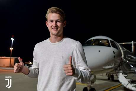 De Ligt é o novo zagueiro da Juventus (Foto: Divulgação)