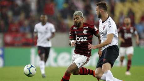 Gabigol marcou pelo quarto jogo seguido (Paulo Sergio/Agência F8)