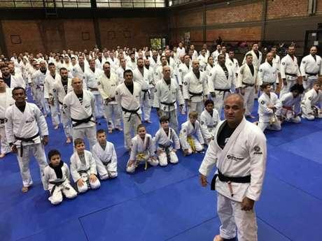 Parceria da Mário Sperry Jiu-Jitsu com a AABB Porto Alegre foi iniciada recentemente (Foto: Divulgação)